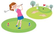 ゴルフで交流が増えました