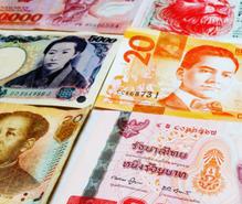 アジアのお金収集の趣味