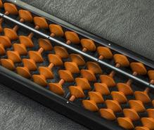 珠算(そろばん)の趣味