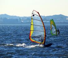 ウィンドサーフィンの趣味