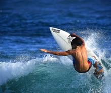 サーフィンの趣味