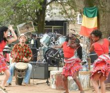 アフリカンダンスの趣味