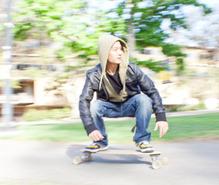スケートボードの趣味