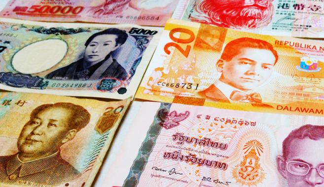 アジアのお金収集