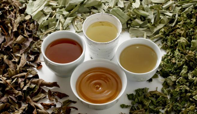 野草茶作り