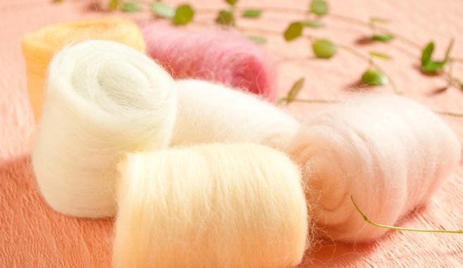 ふんわりかわいい小物つくり☆羊毛フェルト