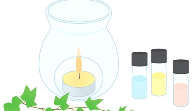 ろうそくの明かりと良い香りで癒される生活